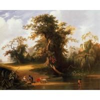 Landscape Rudal Scene
