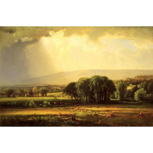 Harvest Scene in the Delaware Valley