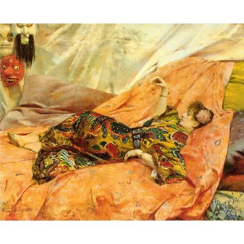 A Portrait of Sarah Bernhardt