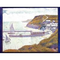 Port en Bessin The Outer Harbor High Tide