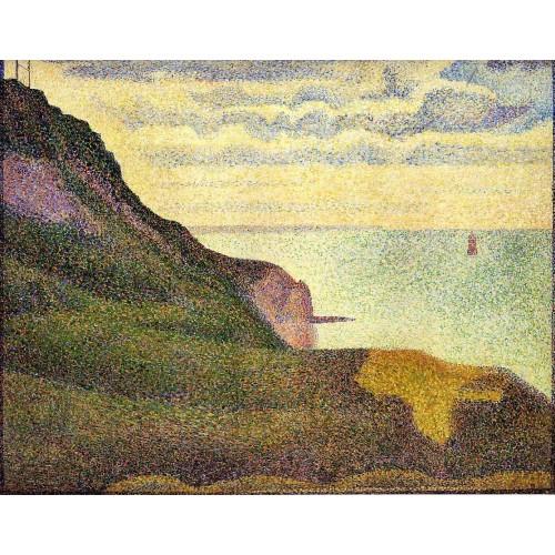 Port en Bessin the Semaphore and Cliffs