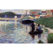 The Bridge View of the Seine