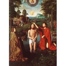 Triptych of Jean Des Trompes (central)