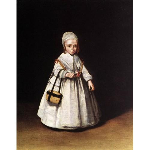 Helena van der Schalcke as a child