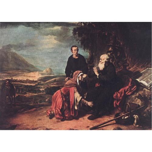 Prophet Eliseus and the Woman of Sunem