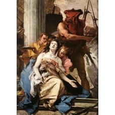 The Martyrdom of St Agatha