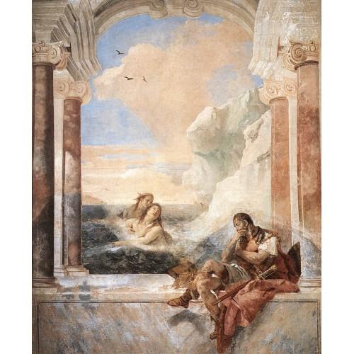 Thetis Consoling Achilles
