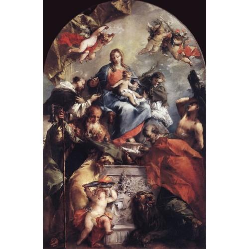 Madonna and Saints
