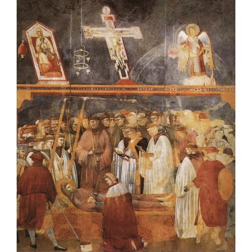 Legend of St Francis 22 Verification of the Stigmata