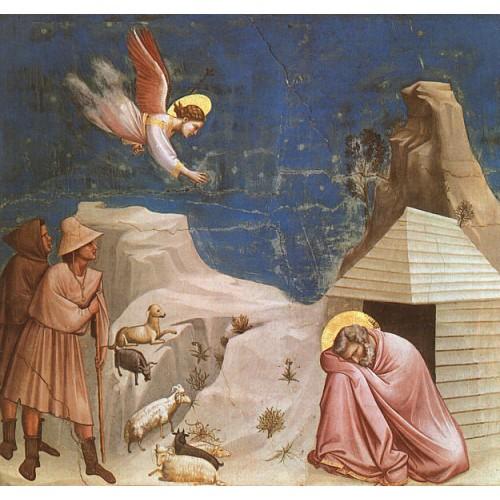 Scenes from the Life of Joachim 5 Joachim's Dream