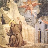 Scenes from the Life of Saint Francis 1 Stigmatization of Sa