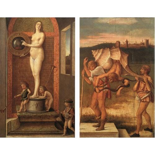 Four Allegories Prudence and Falsehood