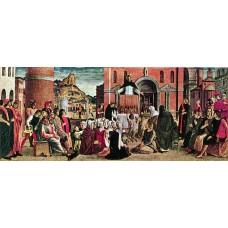 Polyptych of S Vincenzo Ferreri (predella) 3