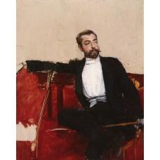 A Portrait of John Singer Sargent (L'uomo Dallo Sparato)
