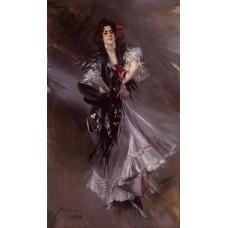 Portrait of Anita de la Ferie The Spanish Dancer'