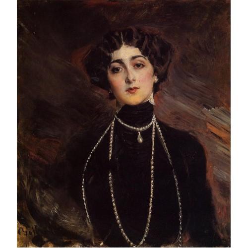 Portrait of Lina Cavalieri