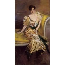 Portrait of Madame Josephina Alvear de Errazuriz