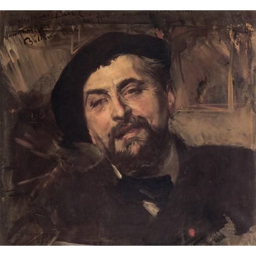 Portrait of the Artist Ernest Ange Duez