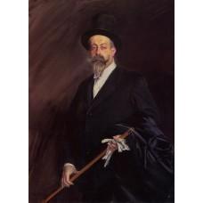 Portrait of The Writer Henri Gauthier Villars