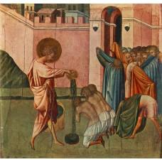 St Ansanus Baptizing