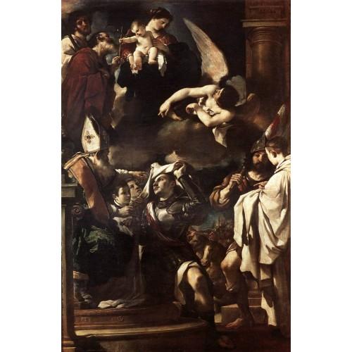 St William of Aquitaine Receiving the Cowl