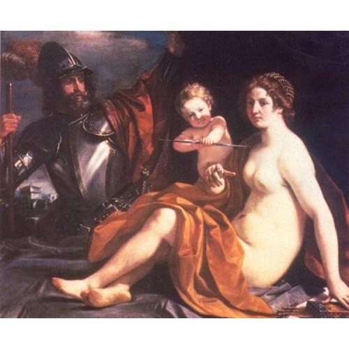 Venus Mars and Cupid