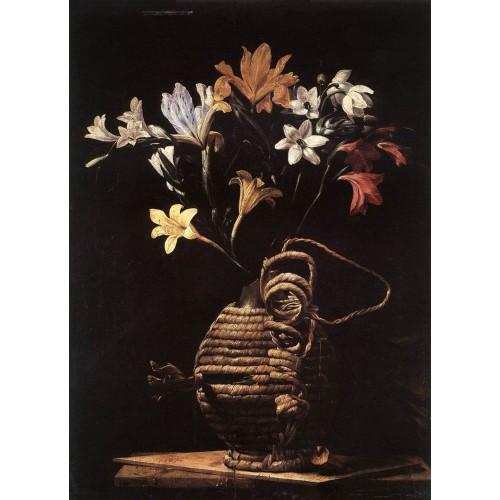 Flowers in a Flask