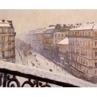 Boulevard Haussmann Snow
