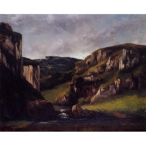 Cliffs near Ornans
