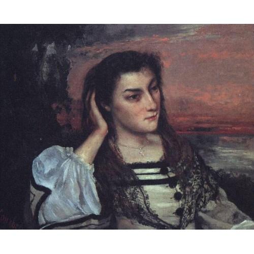 Portrait of Gabrielle Borreau