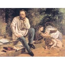 Portrait of P.J Proudhon