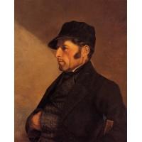 Portrait of the Artist's Father Regis Courbet