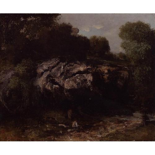 Rocky Landscape with Figure