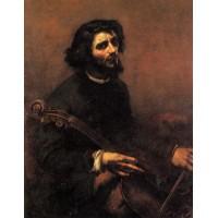 The Cellist Self Portrait