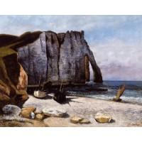 The Cliff at Etretat