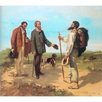 The Meeting (Bonjour Monsieur Courbet)