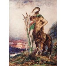 The Dead Poet Borne by a Centaur
