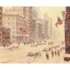 Winter's Day Fifth Avenue
