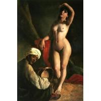 Portrait of Jaroslava The Artists Daughter