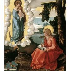 St John at Patmos