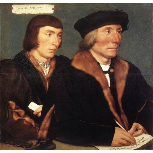 Double Portrait of Sir Thomas Godsalve and His Son John
