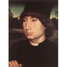 Portrait of a Young Man before a Landscape
