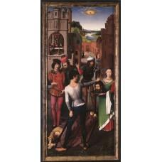 St John Altarpiece (left wing)