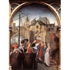 St Ursula Shrine (scene 1)