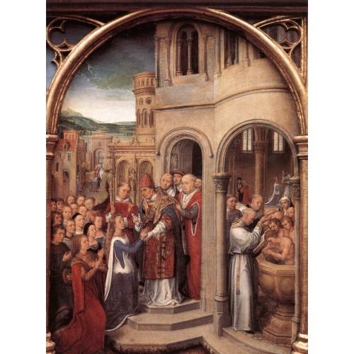 St Ursula Shrine (scene 3)