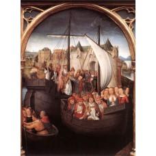 St Ursula Shrine (scene 4)