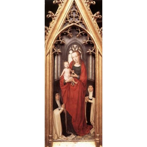St Ursula Shrine Virgin and Child