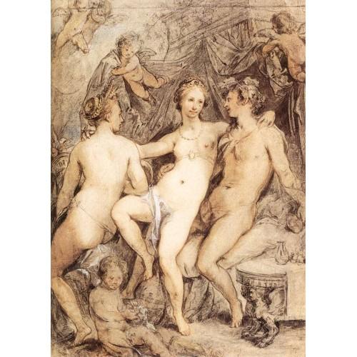 Venus between Ceres and Bacchus