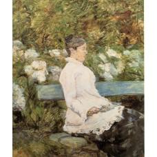 Countess Adele Zoe de Toulouse Lautrec (Artist's Mother) 1