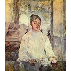 Countess Adele Zoe de Toulouse Lautrec (Artist's Mother) 2